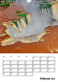 BRASILIEN UND ARGENTINIEN. Die Wasserfälle von Iguazú (Wandkalender 2019 DIN A4 hoch) - Produktdetailbild 8