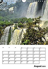BRASILIEN UND ARGENTINIEN. Die Wasserfälle von Iguazú (Wandkalender 2019 DIN A4 hoch) - Produktdetailbild 12