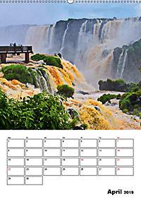 BRASILIEN UND ARGENTINIEN. Die Wasserfälle von Iguazú (Wandkalender 2019 DIN A2 hoch) - Produktdetailbild 4