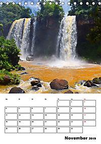 BRASILIEN UND ARGENTINIEN. Die Wasserfälle von Iguazú (Tischkalender 2019 DIN A5 hoch) - Produktdetailbild 11