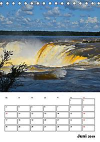 BRASILIEN UND ARGENTINIEN. Die Wasserfälle von Iguazú (Tischkalender 2019 DIN A5 hoch) - Produktdetailbild 6