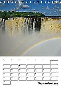 BRASILIEN UND ARGENTINIEN. Die Wasserfälle von Iguazú (Tischkalender 2019 DIN A5 hoch) - Produktdetailbild 9