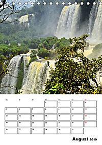 BRASILIEN UND ARGENTINIEN. Die Wasserfälle von Iguazú (Tischkalender 2019 DIN A5 hoch) - Produktdetailbild 8