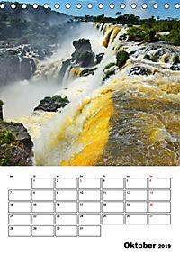 BRASILIEN UND ARGENTINIEN. Die Wasserfälle von Iguazú (Tischkalender 2019 DIN A5 hoch) - Produktdetailbild 10
