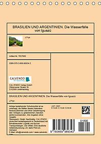 BRASILIEN UND ARGENTINIEN. Die Wasserfälle von Iguazú (Tischkalender 2019 DIN A5 hoch) - Produktdetailbild 13