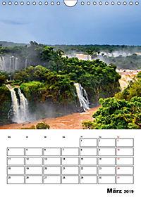 BRASILIEN UND ARGENTINIEN. Die Wasserfälle von Iguazú (Wandkalender 2019 DIN A4 hoch) - Produktdetailbild 3