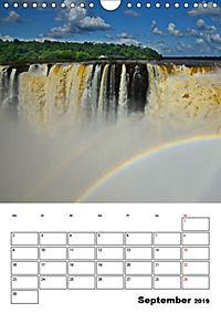 BRASILIEN UND ARGENTINIEN. Die Wasserfälle von Iguazú (Wandkalender 2019 DIN A4 hoch) - Produktdetailbild 9