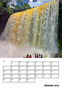 BRASILIEN UND ARGENTINIEN. Die Wasserfälle von Iguazú (Wandkalender 2019 DIN A3 hoch) - Produktdetailbild 1