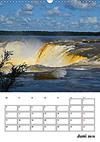 BRASILIEN UND ARGENTINIEN. Die Wasserfälle von Iguazú (Wandkalender 2019 DIN A3 hoch) - Produktdetailbild 6
