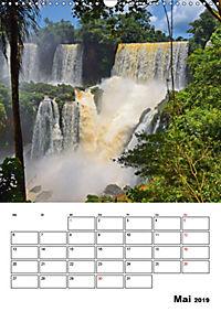 BRASILIEN UND ARGENTINIEN. Die Wasserfälle von Iguazú (Wandkalender 2019 DIN A3 hoch) - Produktdetailbild 5