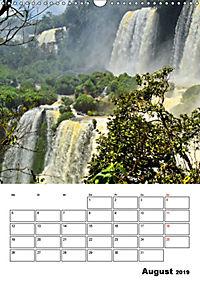 BRASILIEN UND ARGENTINIEN. Die Wasserfälle von Iguazú (Wandkalender 2019 DIN A3 hoch) - Produktdetailbild 8