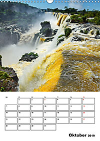 BRASILIEN UND ARGENTINIEN. Die Wasserfälle von Iguazú (Wandkalender 2019 DIN A3 hoch) - Produktdetailbild 10