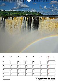 BRASILIEN UND ARGENTINIEN. Die Wasserfälle von Iguazú (Wandkalender 2019 DIN A3 hoch) - Produktdetailbild 9