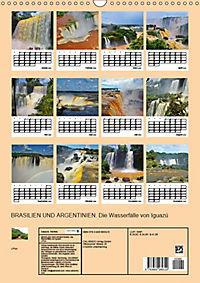 BRASILIEN UND ARGENTINIEN. Die Wasserfälle von Iguazú (Wandkalender 2019 DIN A3 hoch) - Produktdetailbild 13