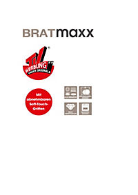 Bratmaxx Marmor-Keramik-Hochrandpfannen, 7-tlg. Set - Produktdetailbild 10