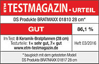 Bratmaxx Marmor-Keramik-Hochrandpfannen, 7-tlg. Set - Produktdetailbild 11