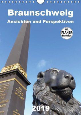 Braunschweig Ansichten und Perspektiven (Wandkalender 2019 DIN A4 hoch), Ralf Schröer