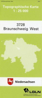 Braunschweig West 1 : 25 000 (TK 3728/N)