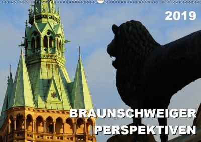 Braunschweiger Perspektiven 2019 (Wandkalender 2019 DIN A2 quer), Ralf Schröer