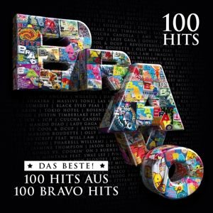 Bravo 100 Hits - Das Beste - 100 Hits aus 100 Bravo Hits (Limitierte 5CD-Edition), Diverse Interpreten