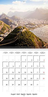 Brazil - A new view (Wall Calendar 2019 300 × 300 mm Square) - Produktdetailbild 8