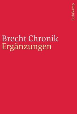 Brecht Chronik 1898-1956 - Werner Hecht |