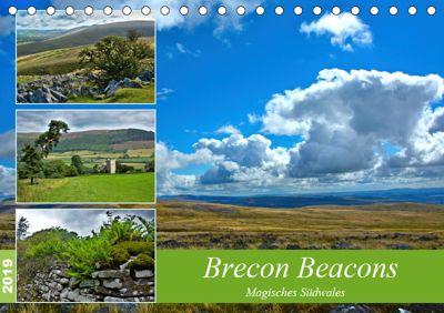 Brecon Beacons - Magisches Südwales (Tischkalender 2019 DIN A5 quer), Lost Plastron Pictures