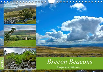 Brecon Beacons - Magisches Südwales (Wandkalender 2019 DIN A4 quer), Lost Plastron Pictures