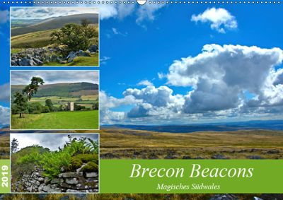 Brecon Beacons - Magisches Südwales (Wandkalender 2019 DIN A2 quer), Lost Plastron Pictures