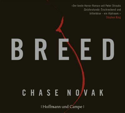 Breed, 6 Audio-CDs, Chase Novak