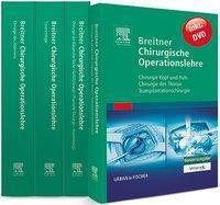 Breitner Chirurgische Operationslehre, 4 Bde., m. DVD, Burghard Breitner