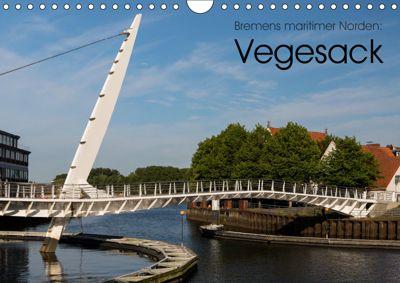Bremens maritimer Norden: Vegesack (Wandkalender 2019 DIN A4 quer), rsiemer