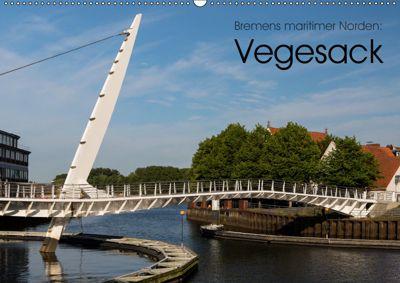 Bremens maritimer Norden: Vegesack (Wandkalender 2019 DIN A2 quer), k.A. rsiemer