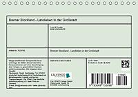 Bremer Blockland - Landleben in der Grossstadt (Tischkalender 2019 DIN A5 quer) - Produktdetailbild 13