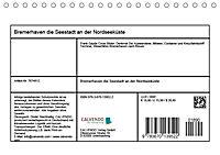 Bremerhaven. Die Seestadt an der Nordseeküste (Tischkalender 2019 DIN A5 quer) - Produktdetailbild 13