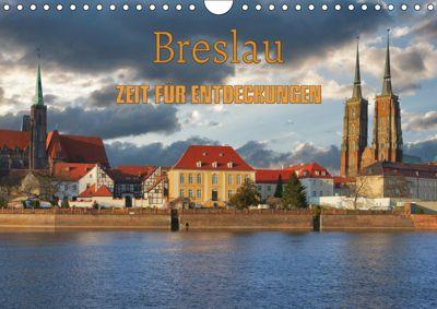 Breslau - Zeit für Entdeckungen (Wandkalender 2019 DIN A4 quer), Gunter Kirsch