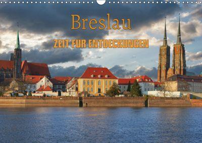 Breslau - Zeit für Entdeckungen (Wandkalender 2019 DIN A3 quer), Gunter Kirsch