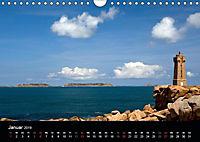 Bretagne - Fotoreise von der Cote de Granit Rose zur Ile de Brehat (Wandkalender 2019 DIN A4 quer) - Produktdetailbild 1