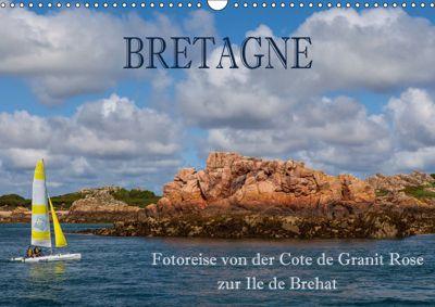 Bretagne - Fotoreise von der Cote de Granit Rose zur Ile de Brehat (Wandkalender 2019 DIN A3 quer), Hans Pfleger