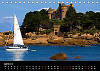 Bretagne - Fotoreise von der Cote de Granit Rose zur Ile de Brehat (Tischkalender 2019 DIN A5 quer) - Produktdetailbild 4