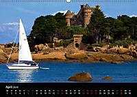 Bretagne - Fotoreise von der Cote de Granit Rose zur Ile de Brehat (Wandkalender 2019 DIN A2 quer) - Produktdetailbild 4