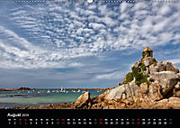 Bretagne - Fotoreise von der Cote de Granit Rose zur Ile de Brehat (Wandkalender 2019 DIN A2 quer) - Produktdetailbild 8