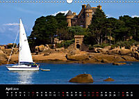 Bretagne - Fotoreise von der Cote de Granit Rose zur Ile de Brehat (Wandkalender 2019 DIN A3 quer) - Produktdetailbild 4