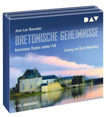 Bretonische Geheimnisse - Kommissar Dupins siebter Fall, 9 Audio-CDs, Jean-Luc Bannalec