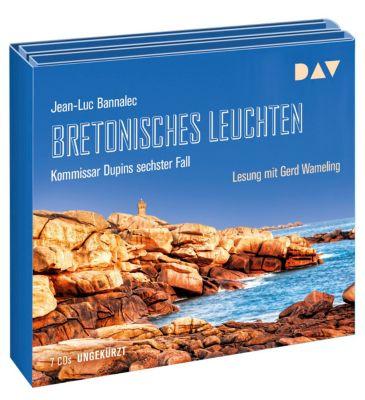 Bretonisches Leuchten, 7 Audio-CDs, Jean-Luc Bannalec