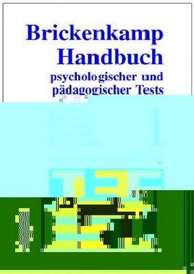 Brickenkamp Handbuch psychologischer und pädagogischer Tests, 2 Bde., Bd.1, Heinz Holling, Elmar Brähler, Rolf Brickenkamp