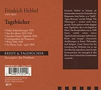 Briefe & Tagebücher: Friedrich Hebbel - Tagebücher, 1 Audio-CD - Produktdetailbild 1