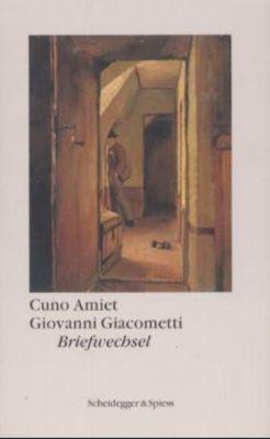 Briefwechsel, Cuno Amiet, Giovanni Giacometti