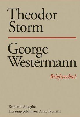 Briefwechsel: .20 Theodor Storm - George Westermann