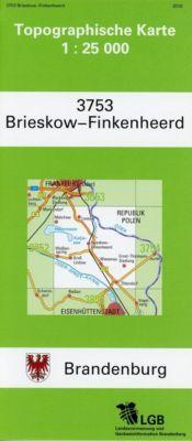 Brieskow-Finkenheerd 1 : 25 000